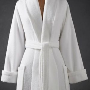 Restoration Hardware Plush Cotton Robe Size S